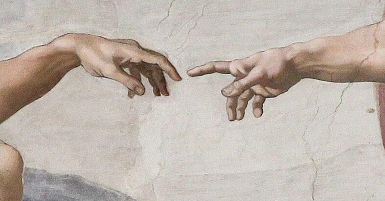 Contenuti Originali - Immagine Di Affresco Creazione Di Adamo Cappella Sistina