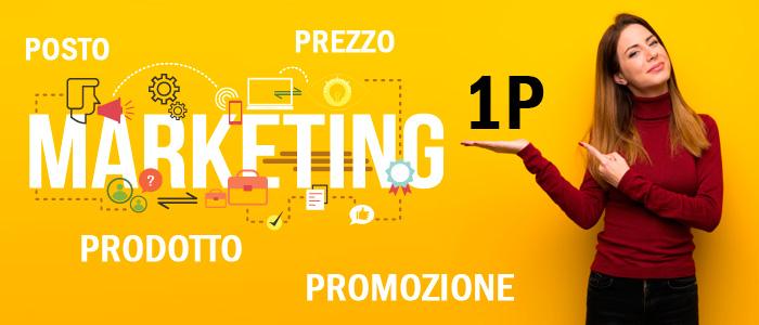 fare marketing con 1 P