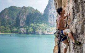 Trovare La Motivazione - Uomo Che Pratica Free Climbing